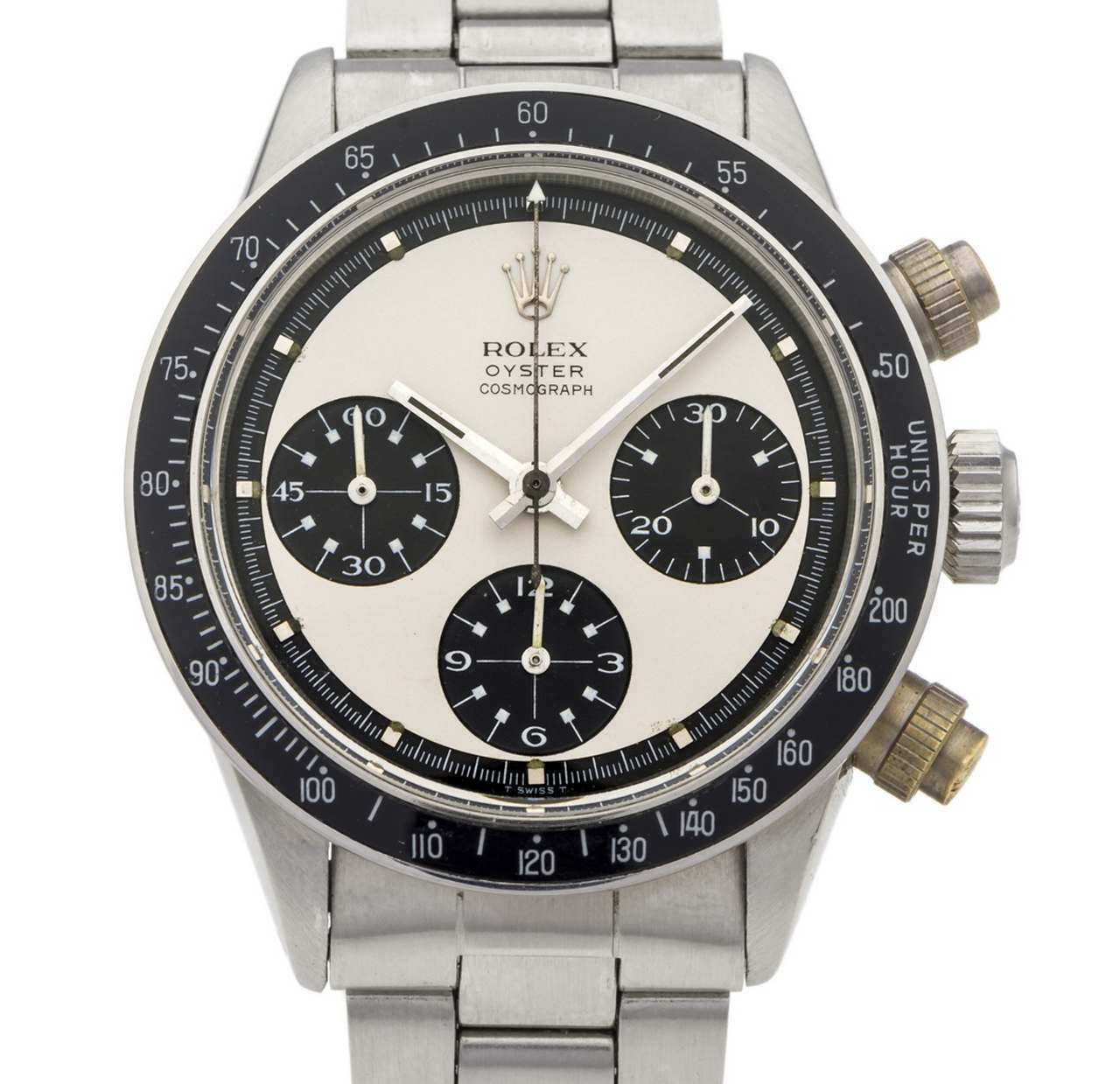 ROLEX, REF. 6263 PAUL NEWMAN STEEL Rolex, Oyster Cosmograph,case No. 2648402, Ref. 6263_6262_source_antiquorum_0-100.