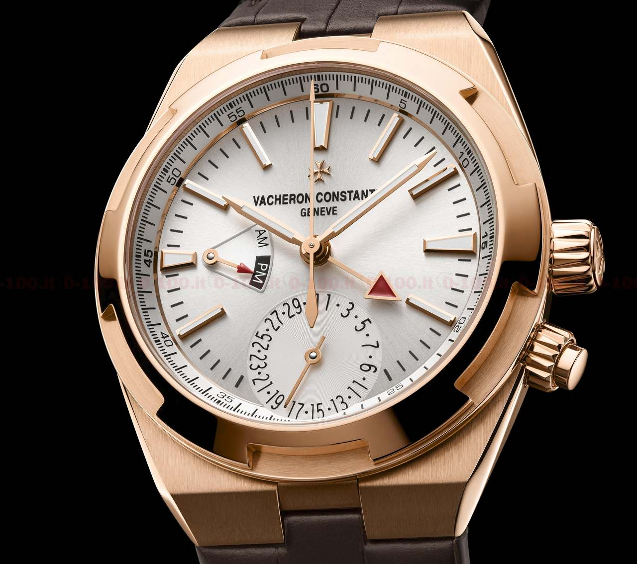Overseas Dual Time Pink gold