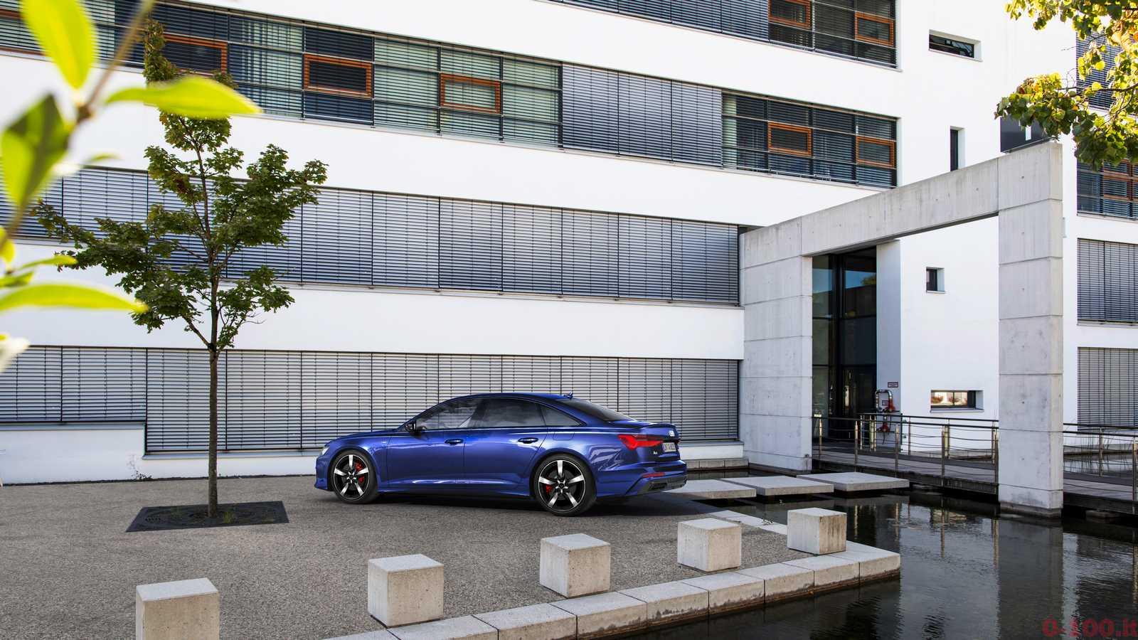 Electrifying full-size sedan: the Audi A6 55 TFSI e quattro